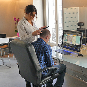 salle de consultation Clinique greffe de cheveux ISTANBUL